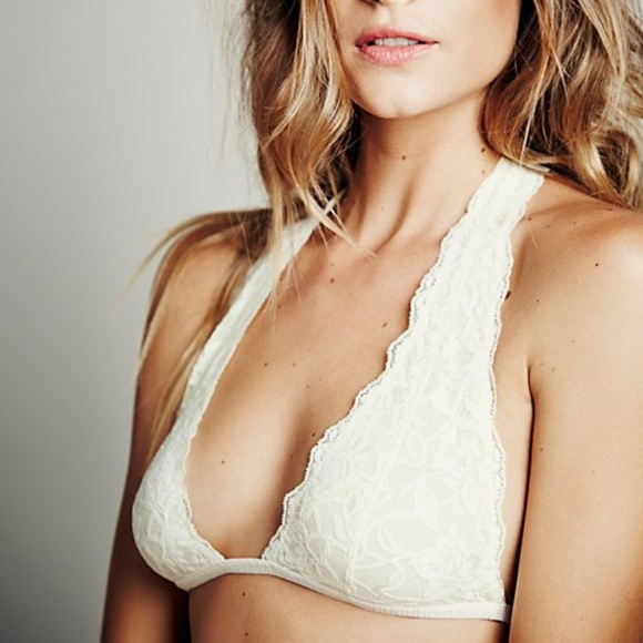 a6155228e4de3 FREE PEOPLE Truly Madly Deeply Halter Bra NWT
